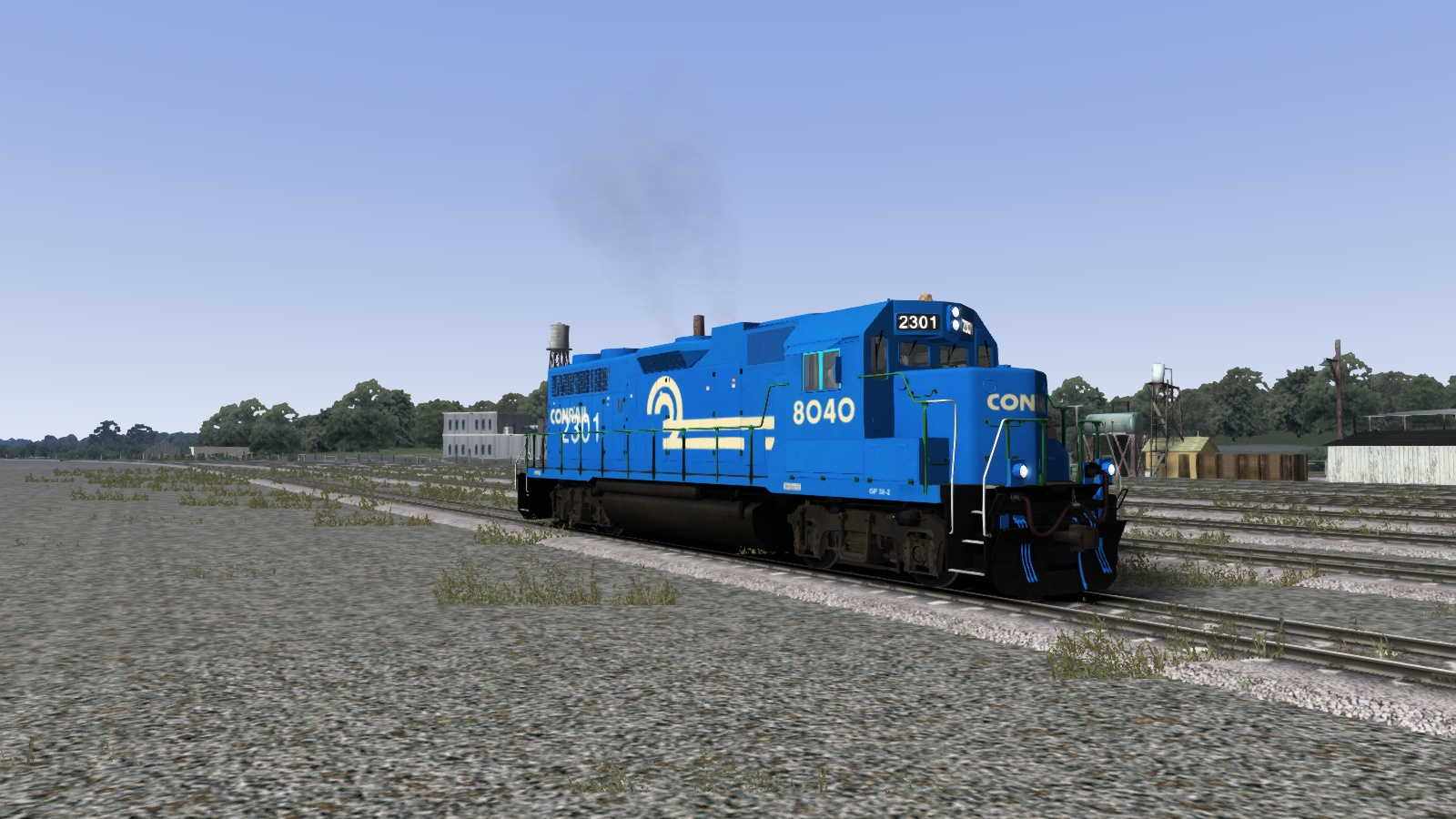 Railworks America • View topic - Conrail GP38-2