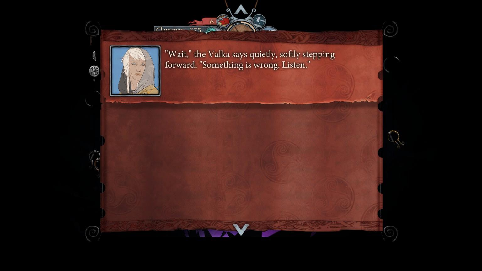 Banner Saga 2 Dialogue