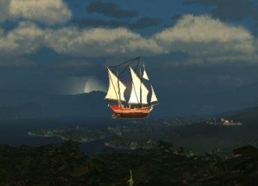 Корабль LuckCatchers Шибай