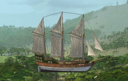 Корабль LuckCatchers «Волк 150фут.»