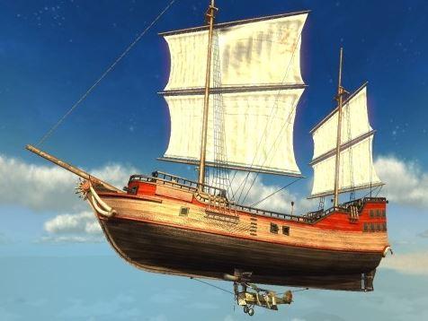 Корабль LuckCatchers «Вепрь 150фут.»