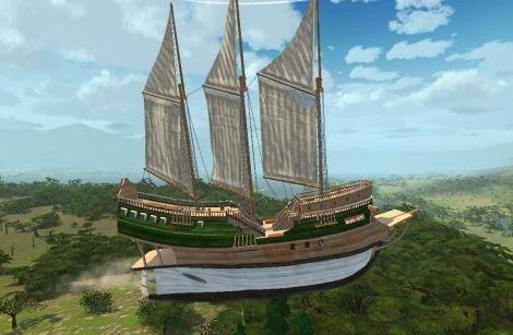 Корабль LuckCatchers «Негоциант»