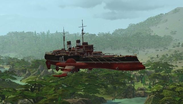 Корабль LuckCatchers «Жаба -200»