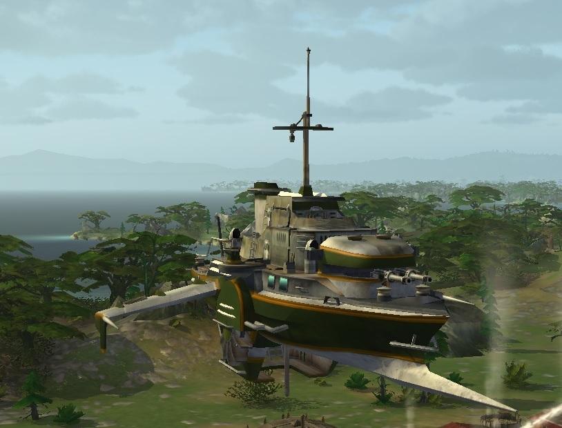 Корабль LuckCatchers «Клинок – 100»