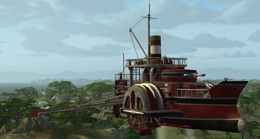 Корабль LuckCatchers «Жаба -100»