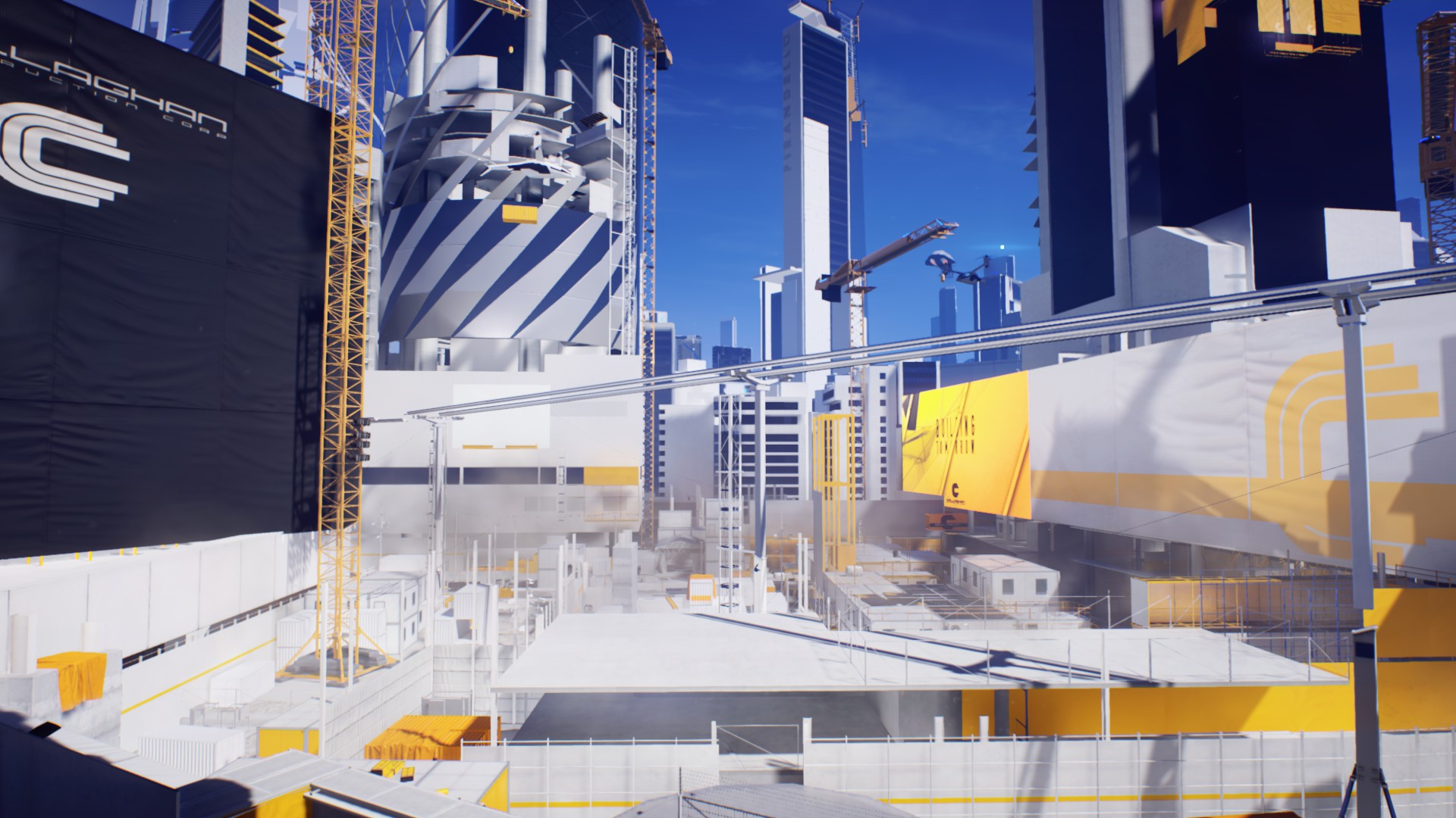 The construction site, the open world's most enjoyable area
