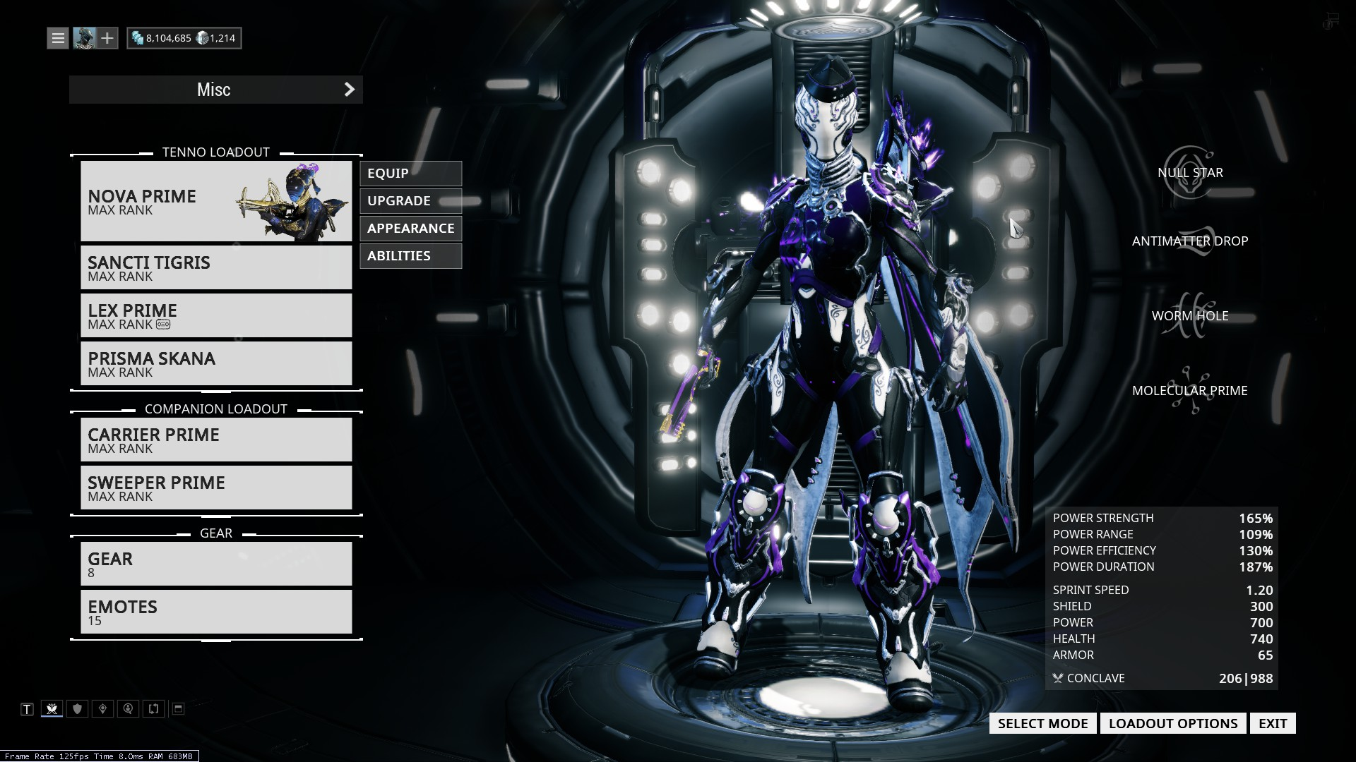 Nova Prime Fashion Frame Players Helping Players Warframe Forums This article is a stub. warframe forums