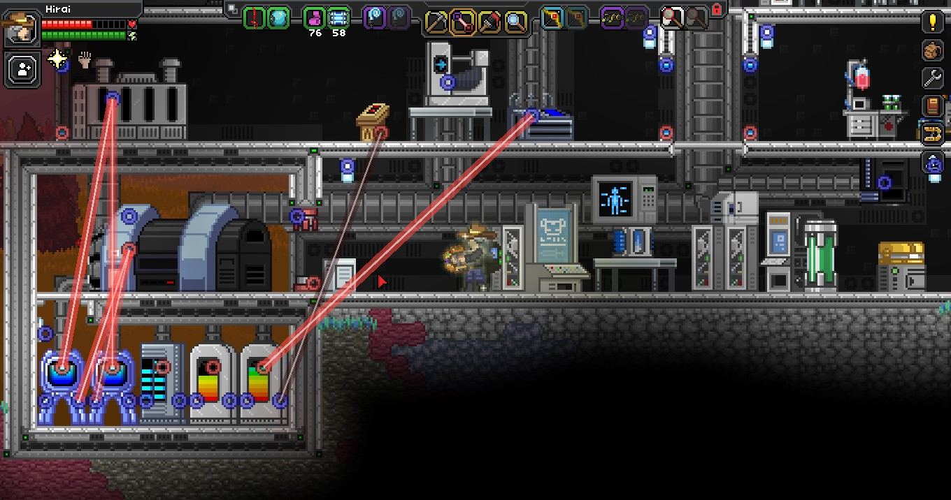 released frackinuniverse page 230 chucklefish forums Starbound Hylotl Starbound Character Creator