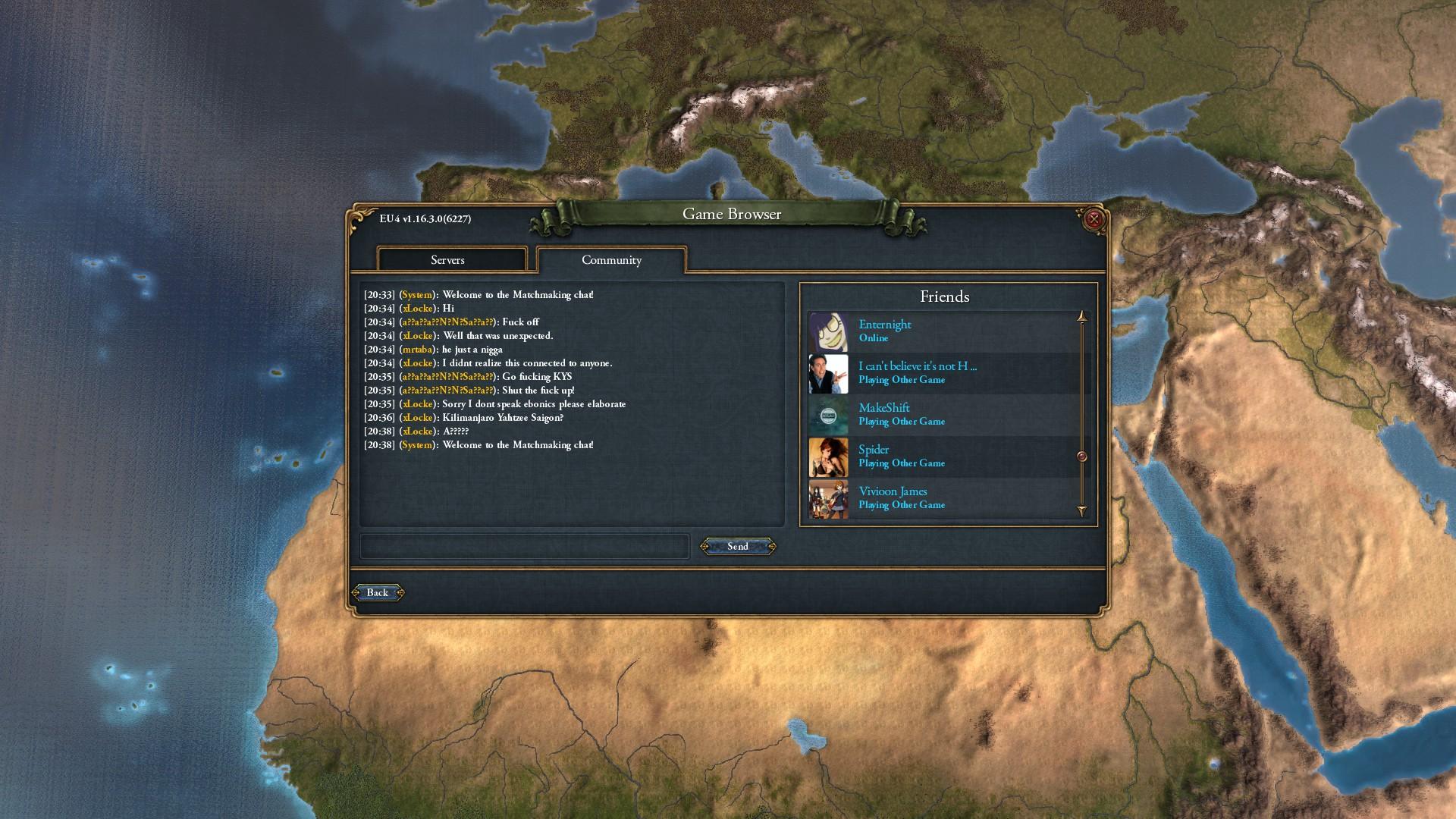Eu4 matchmaking