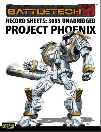 record sheets 3085 unabridged project phoenix pdf