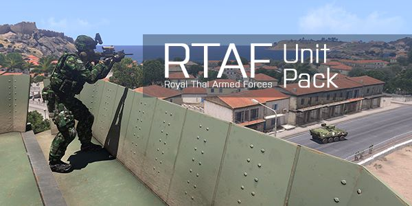 Royal Thai Armed Forces - Unit - ARMA 3 - ADDONS & MODS