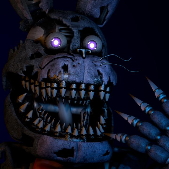 Steam Workshop Fnaf 4 Nightmare Bonnie - Imagez co