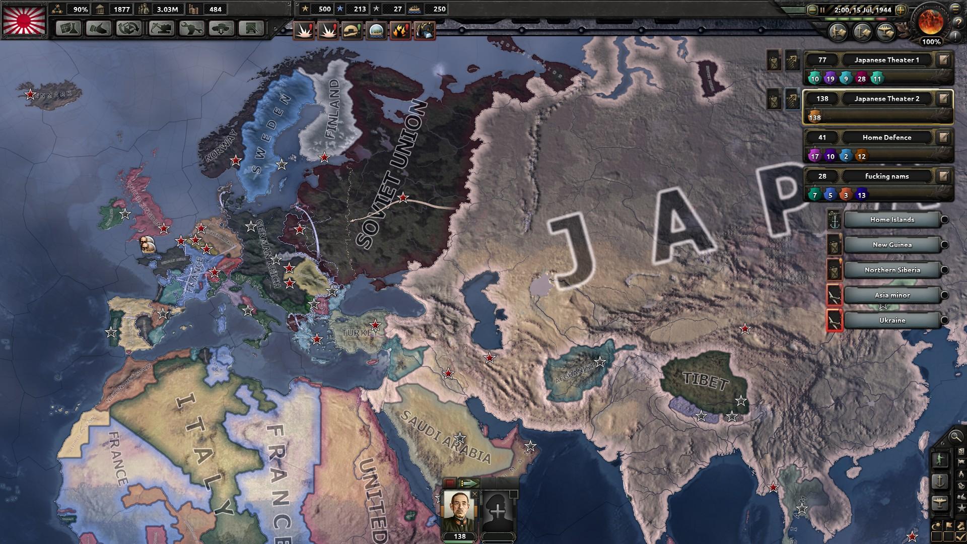 As Axis I hate Japan hoi4
