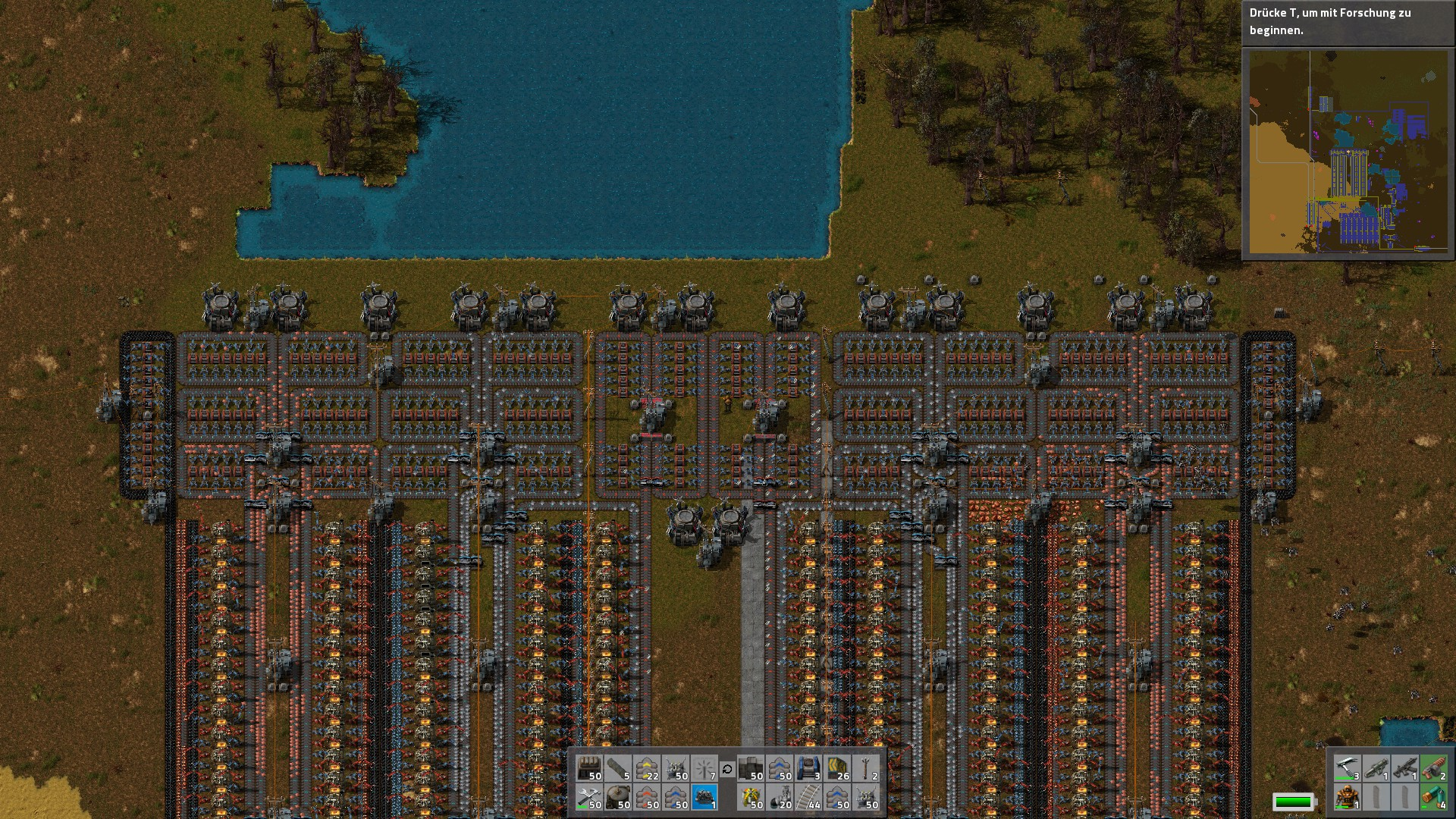 What is your best furnace layout? : factorio