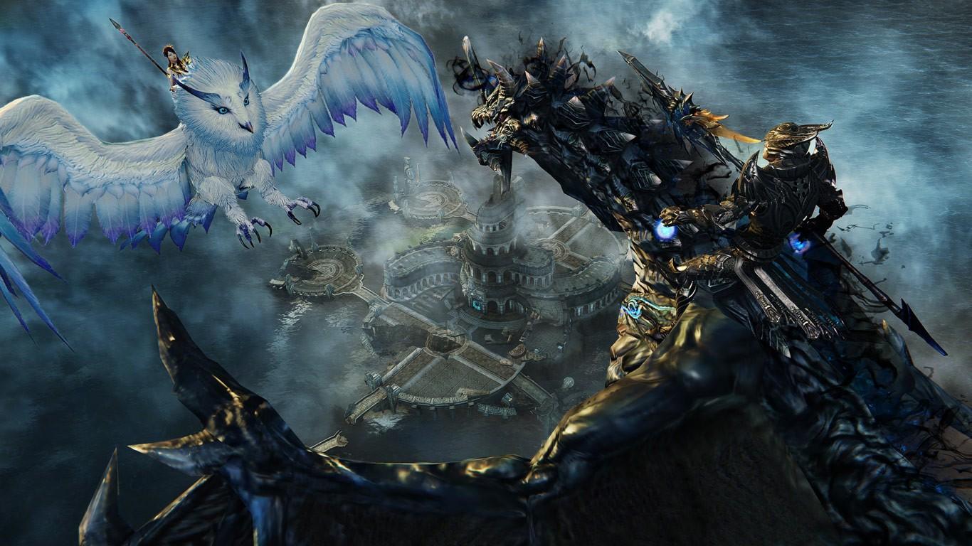 В сети появился новый геймплей Riders Of Icarus