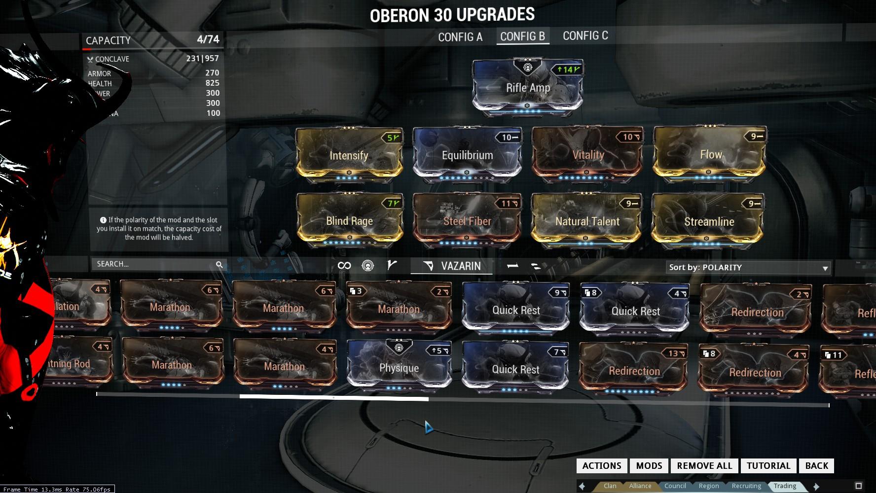 warframe how to build ship