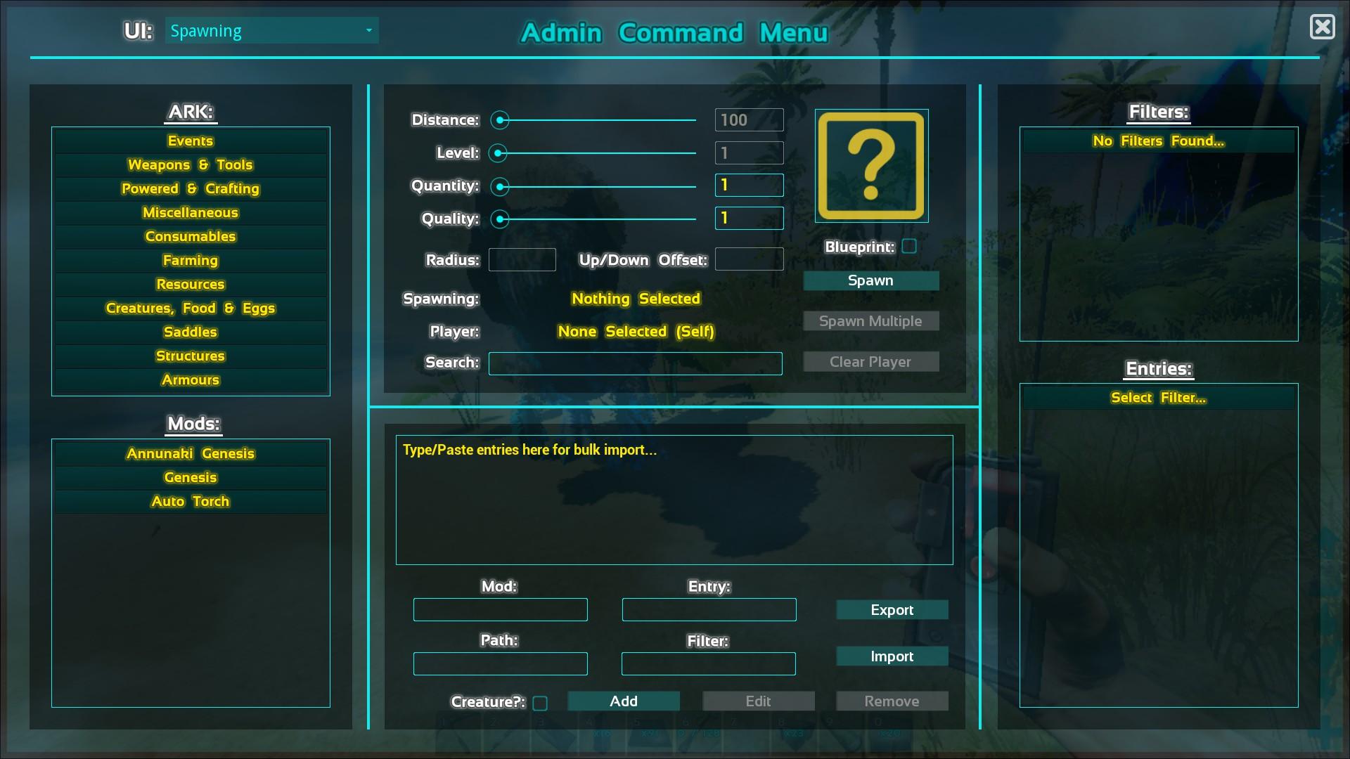 Bulk Import Mods to ARK ACM