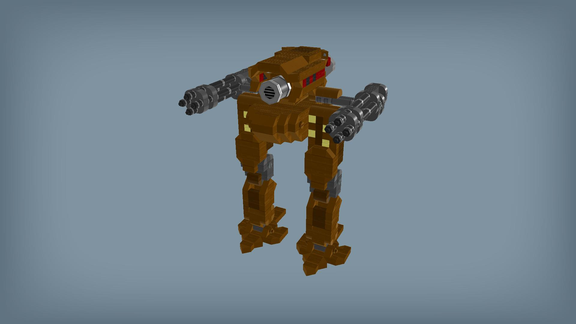 Как сделать ходячего робота в scrap mechanic