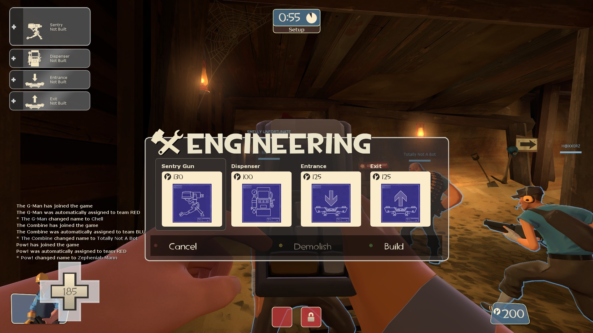 HUD editing: short questions, quick answers