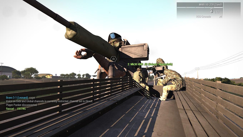 When you call in the big guns! : arma