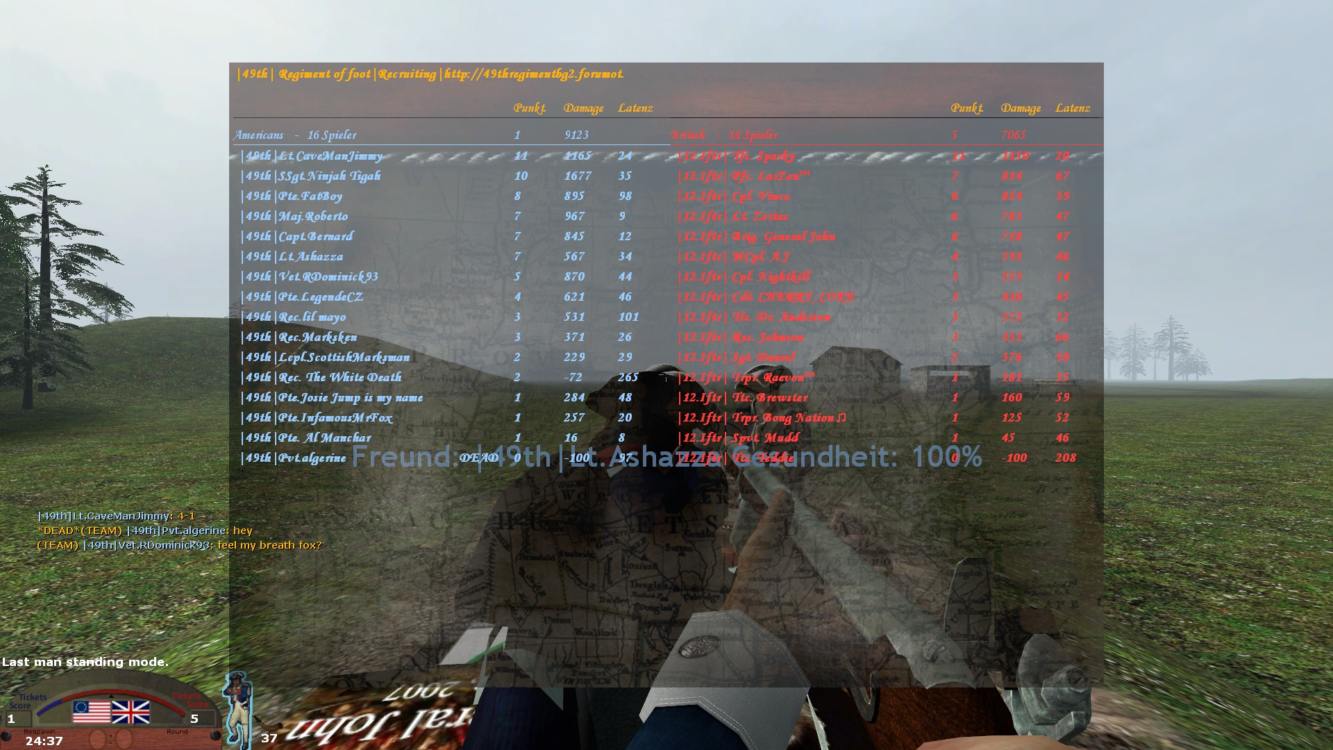 12.Iftr vs 49th Linebattle  D0DF4D38546745E0B479B4FAF1C98D61CAFF03B4