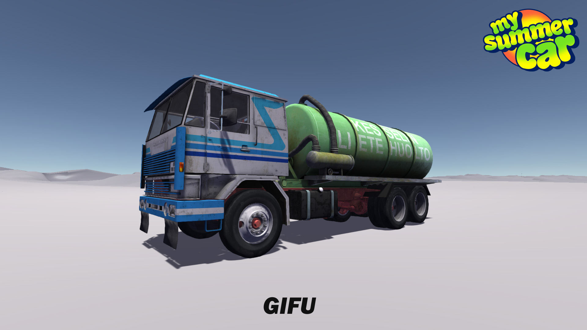 How To Drive The Sewage Truck My Summer Car