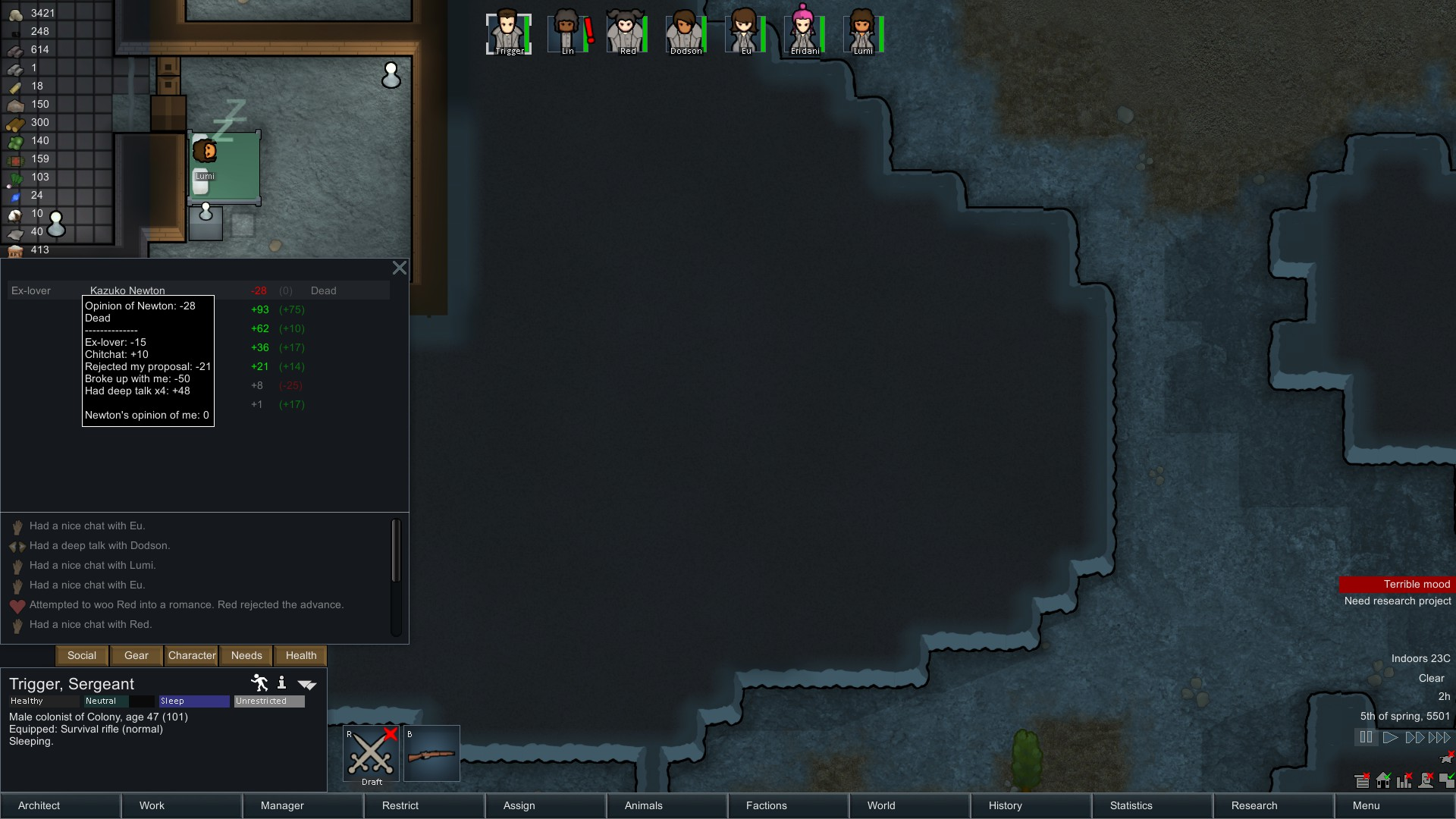 RimWorld - Prison Architect, Dwarf Fortress with a little FT