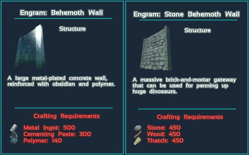 Steam workshop behemoth wall mod balanced cheat giveitem blueprintgamemodsbehemothmodbalancedprimalitemstructuremetalbehemothwallbimalitemstructuremetalbehemothwallb 1 1 0 malvernweather