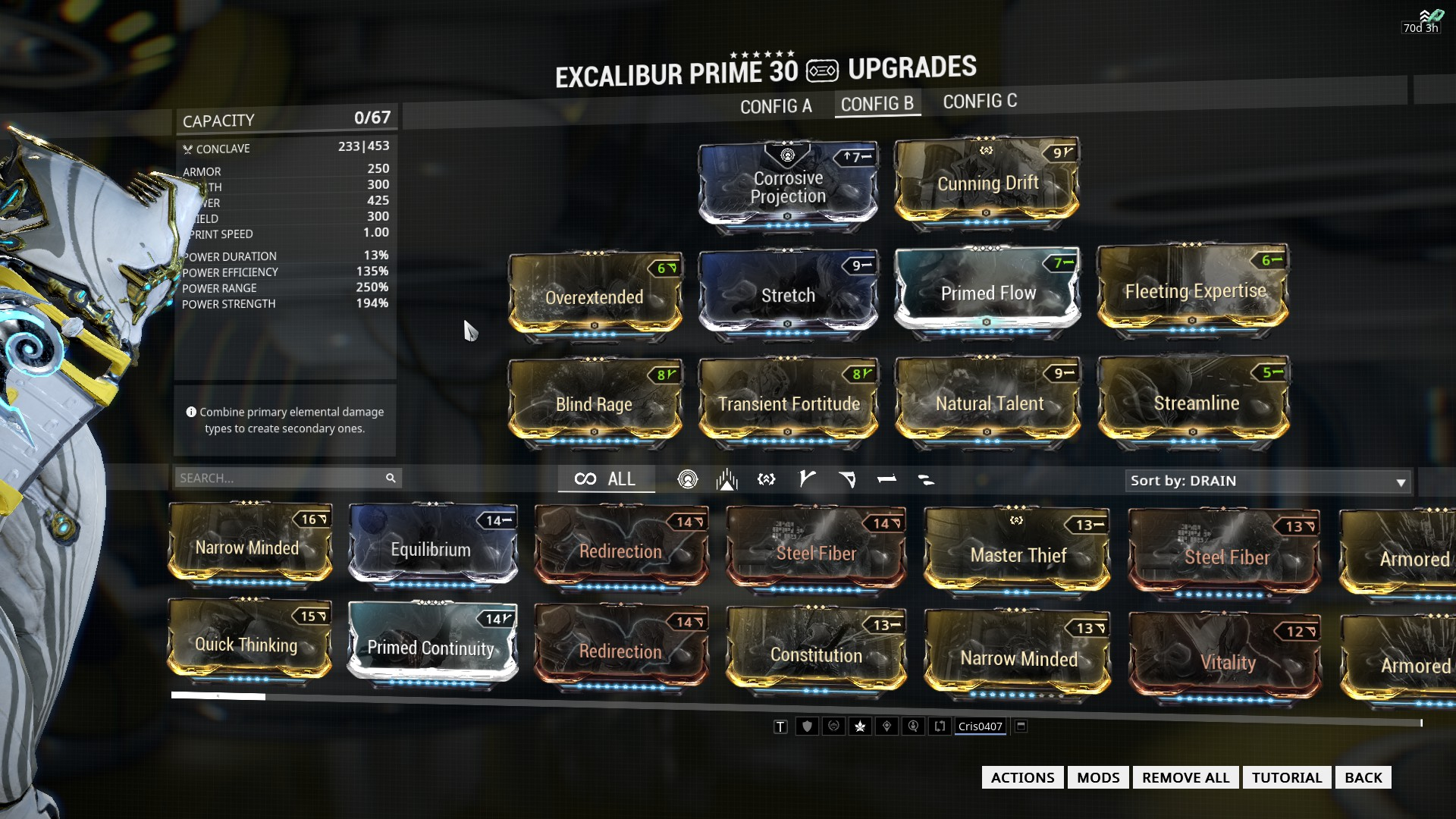 Warframe Octavia Builds