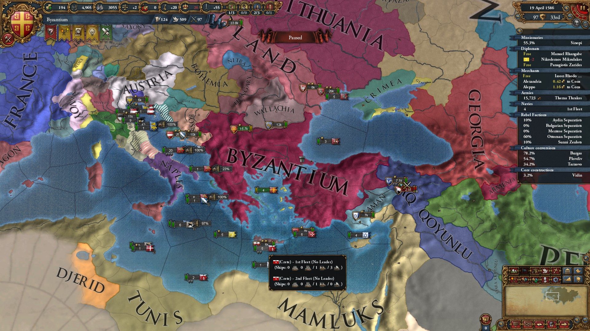 Agreement Between Two Or More Nations To Crush The Same Rebels