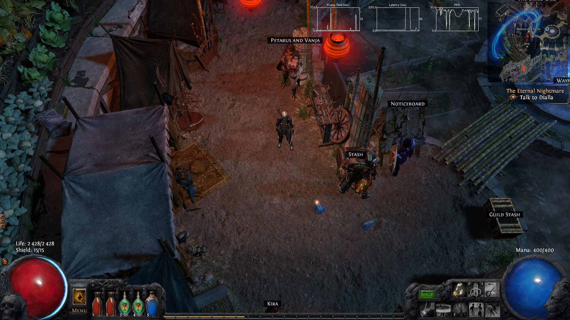 Path Of Exile Freezing Lag