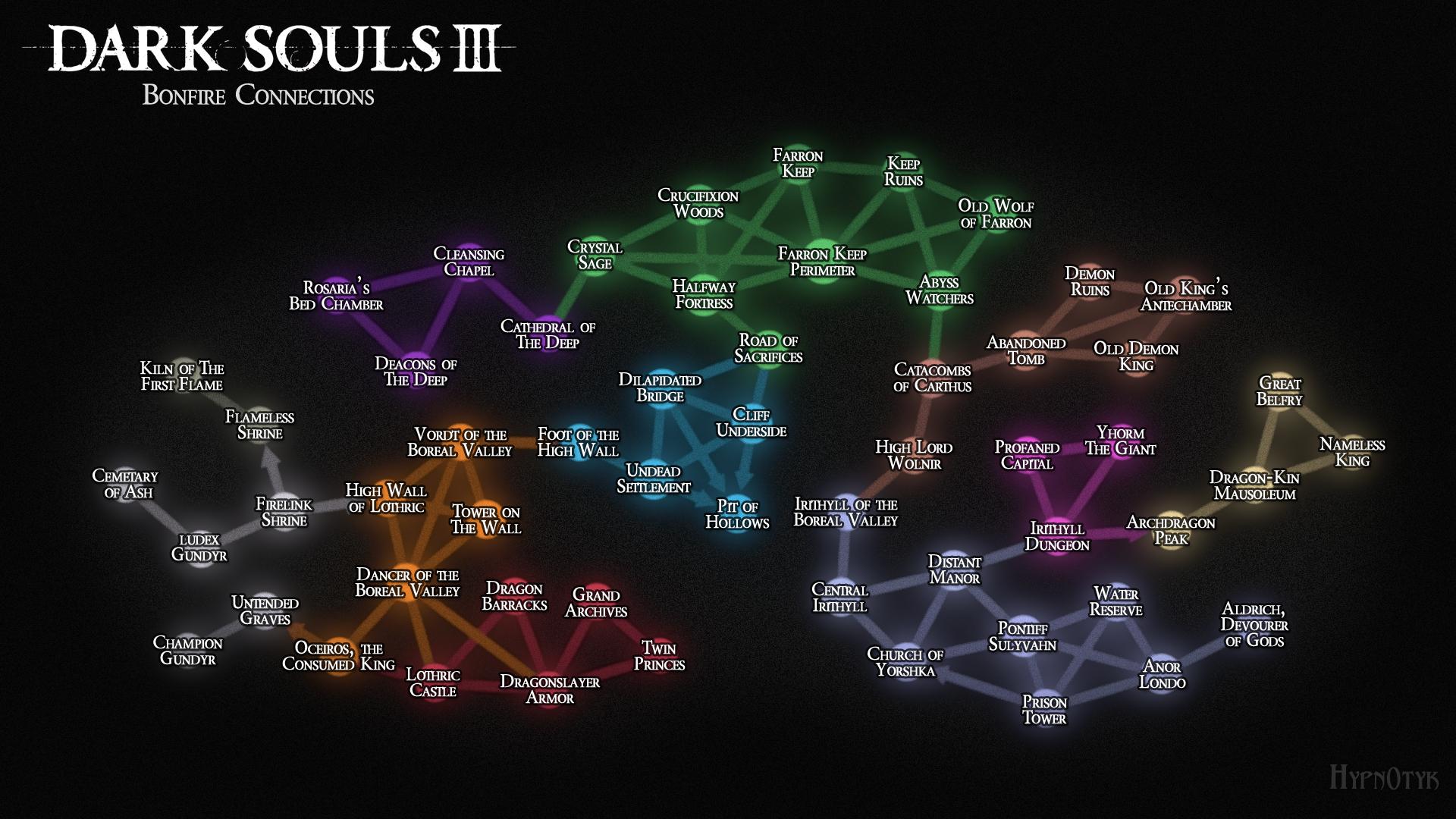 Mappa dei falò