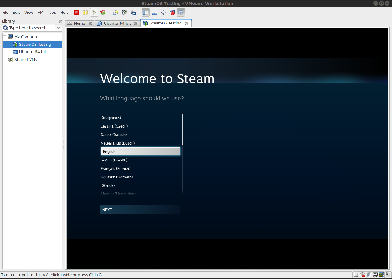 installing windows 10 on steam machine