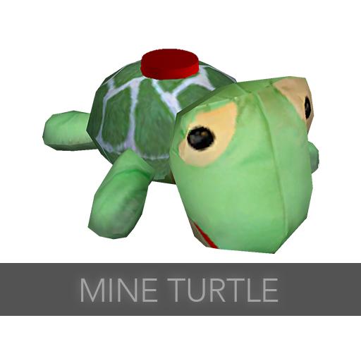 Mine turtle explosion - photo#55