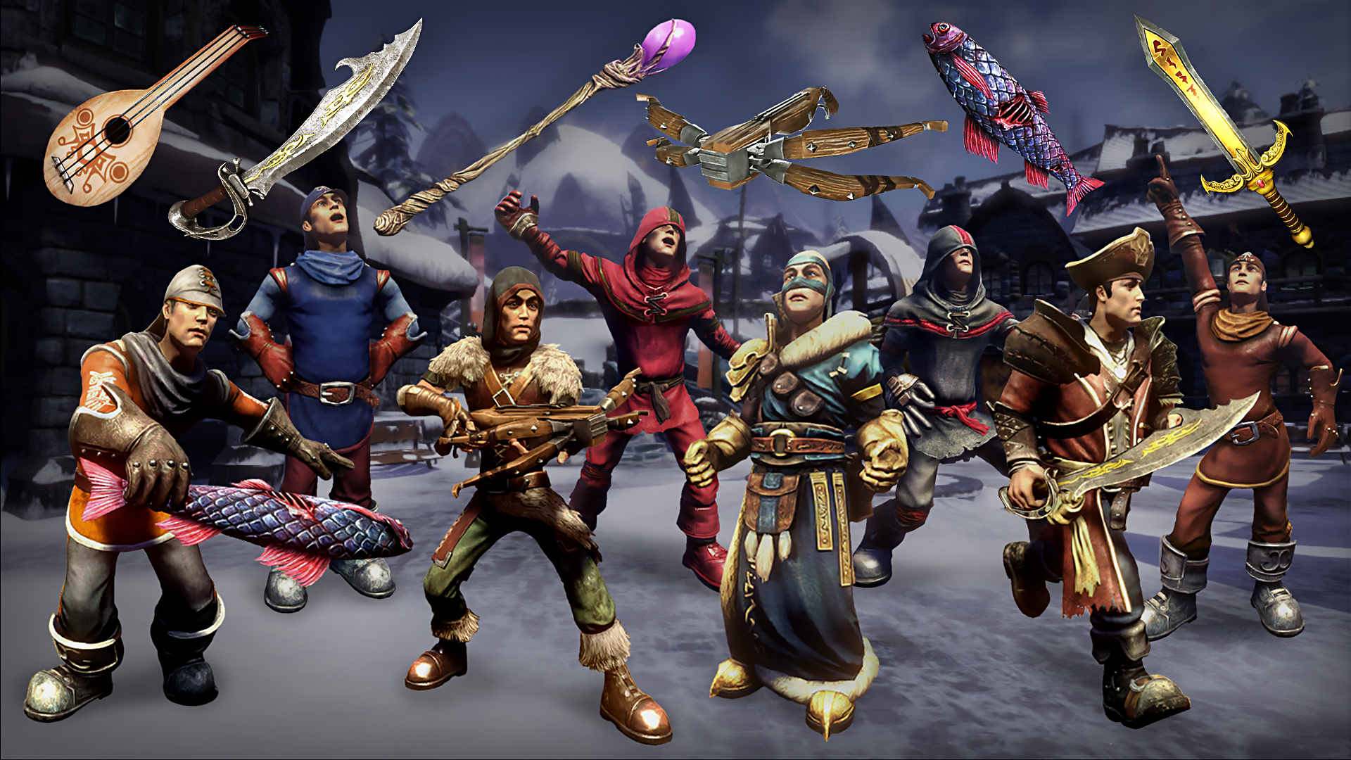 Fable anniversary outfits ~ Steam community guide dlc weapon and outfit