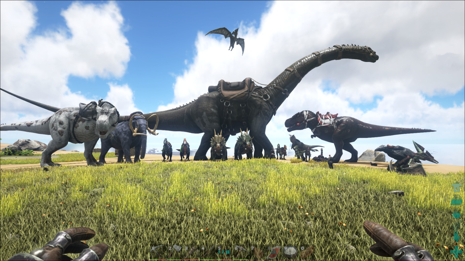 how to kill all tamed dinos in ark