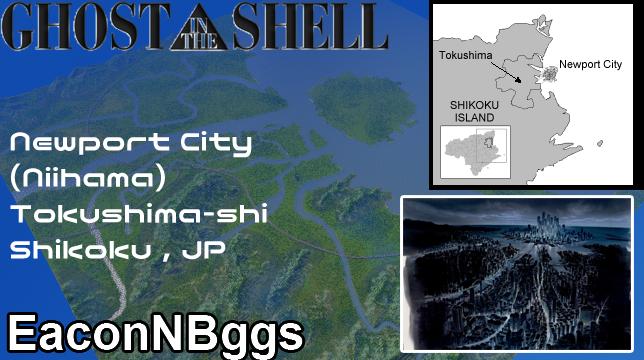 GiTS NewPort City Niihama SKYMODS - Niihama map