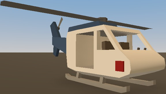 unturned how to drive a helicopter