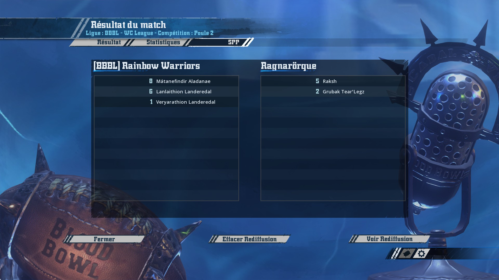 WC J2 : [Momienova] Rainbow Warriors vs Ragnarörque [Gunnar] : 2-0 AD03C37F1D92049DEE95CA850030A518BE18E6BF