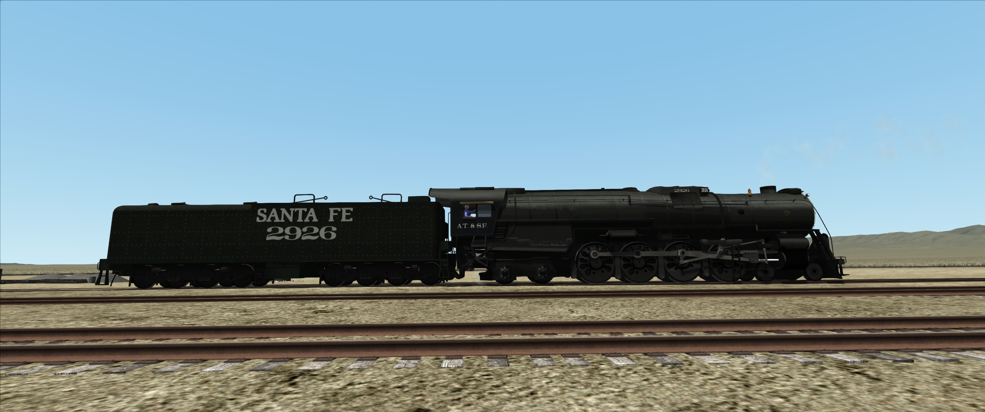 Railworks America • View topic - Baldwin ATSF Northern