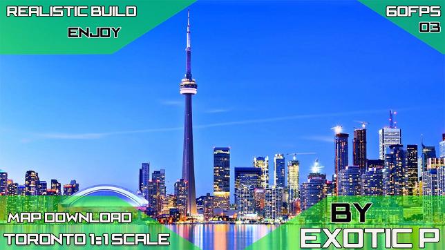 City Of Toronto 1:1 Scale! Realistic - SKYMODS