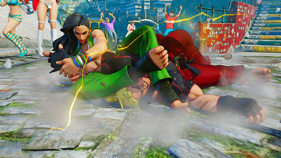 Image result for sf5 laura command grab
