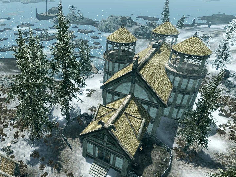 How Do You Build A House In Skyrim Hearthfire