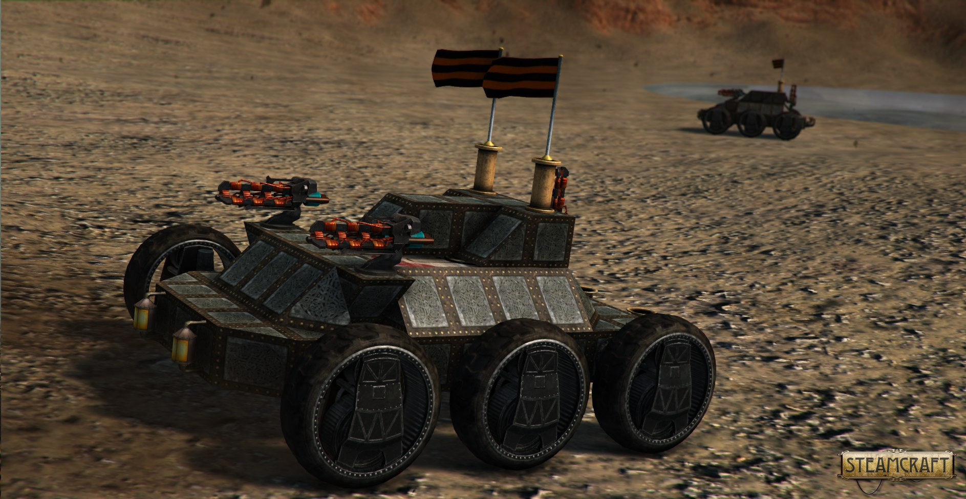 Steamcraft Steampunk Multiplayer Shooter With Steam Powered Vehicles Pc Steam Greenlight Unity Forum
