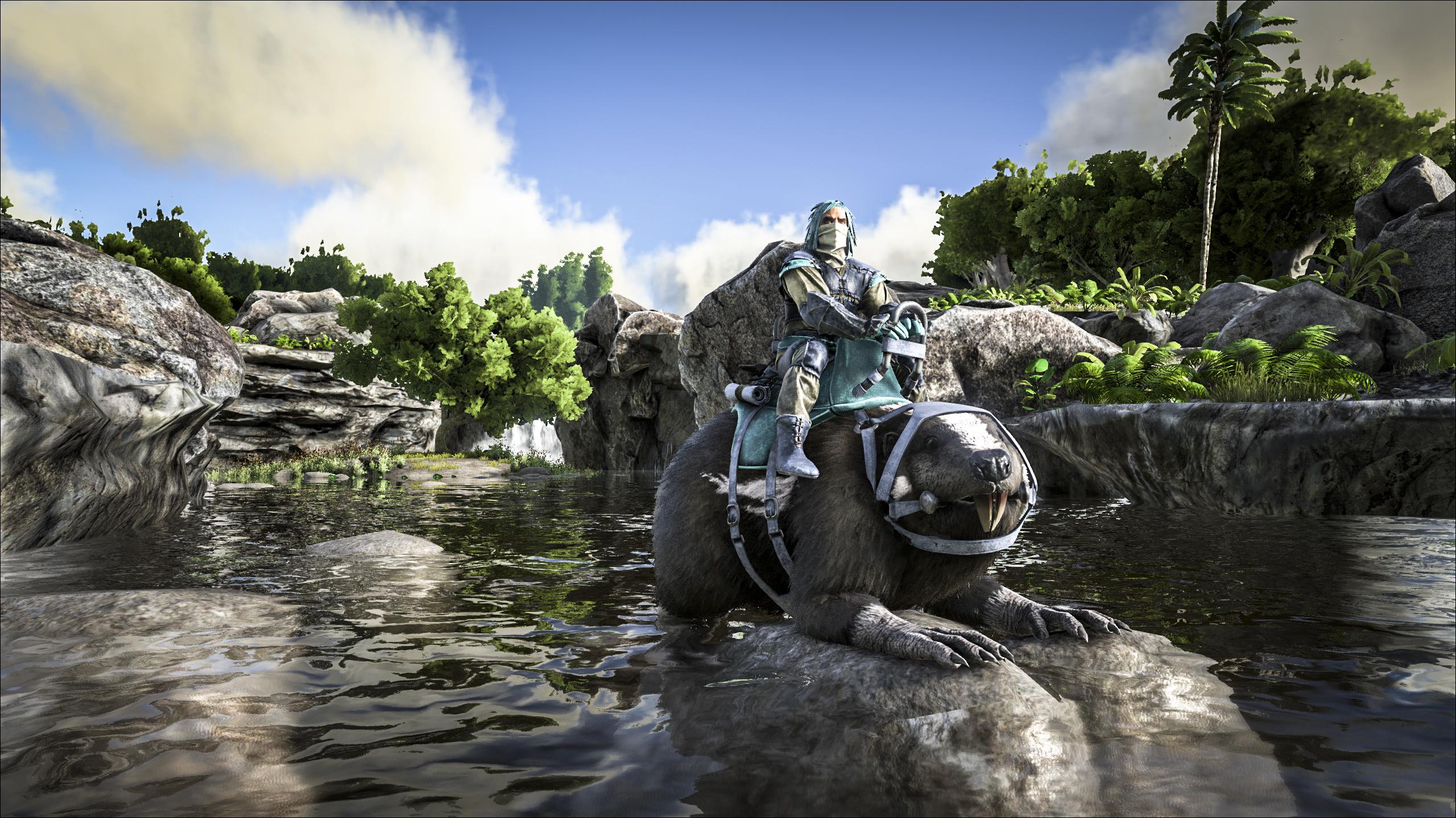 Ark Plesiosaur Island