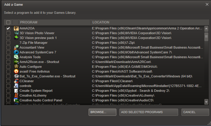 how to change steam game directory