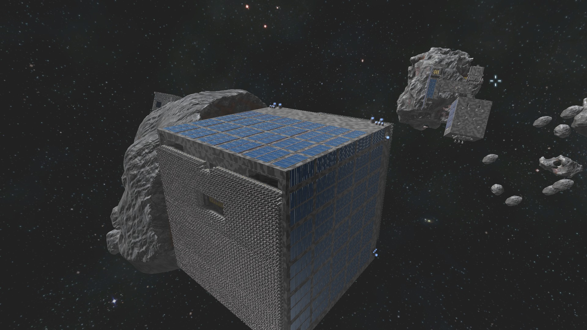 how to use projector space engineers