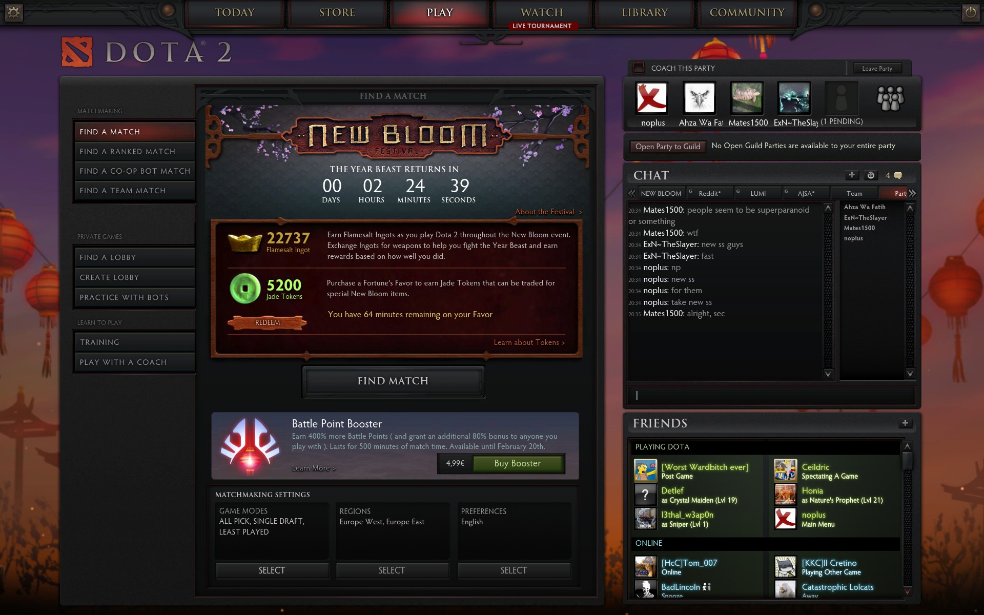 How to get to high matchmaking dota 2
