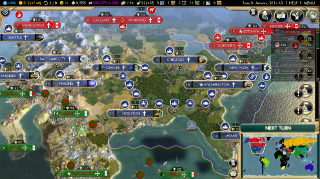 Steam Workshop Earth 2014 – Civ 5 World Map