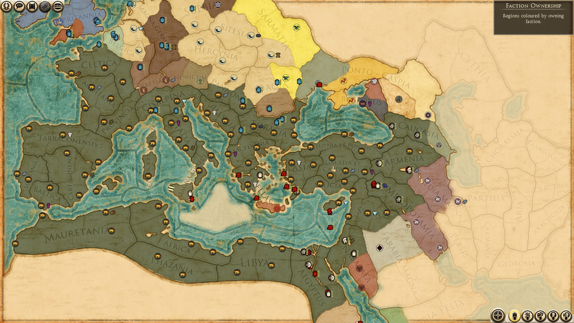 Steam Community Guide ROME EMPEROR EDITION Easy Public - Rome total war map city locations